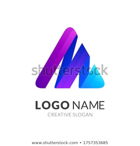 3D szimbólumok férfi női fehér lány Stock fotó © kitch