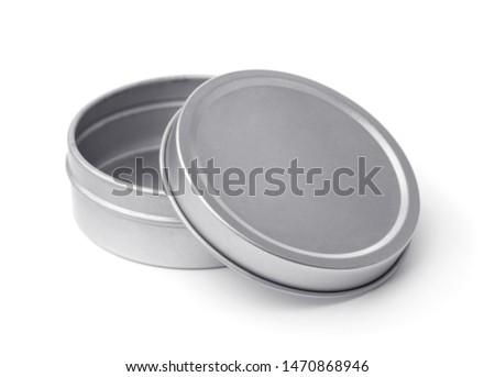 metal · caixa · isolado · branco - foto stock © shutswis