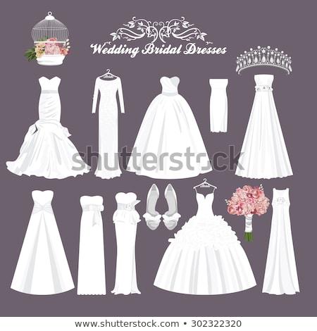 different bride accessories stock photo © taden