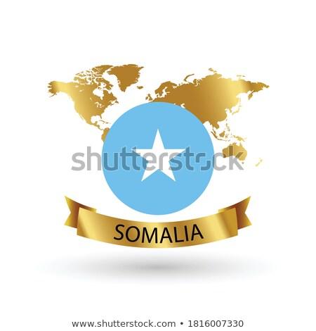 フラグ ソマリア コンピュータ 生成された 実例 旅行 ストックフォト © fresh_7266481