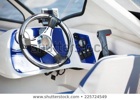 руль древесины путешествия лодка роскошь путешествия Сток-фото © bmonteny
