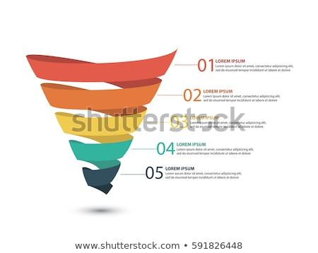 Trechter objecten een details Stockfoto © phbcz
