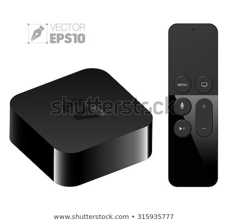 future controller on black control console stock photo © tashatuvango