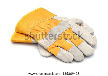 Working gloves isolated Stock photo © ozaiachin