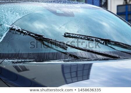 Car windscreen wipers Stock photo © ozaiachin