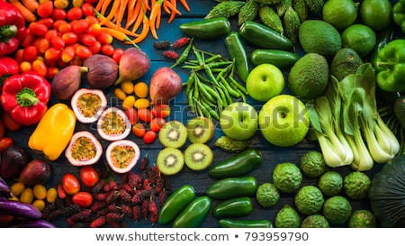 different vegetables at a market stock photo © elxeneize