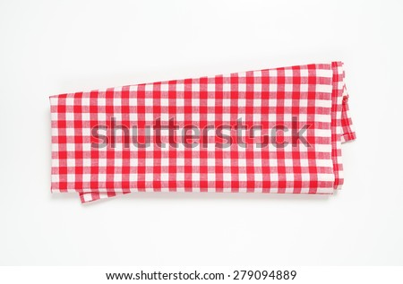 Checked tea towel  Stock photo © Digifoodstock