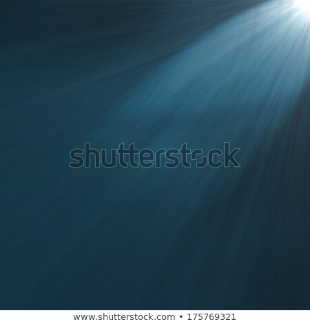 Abstract aqua light ray wall background. Stock photo © klss