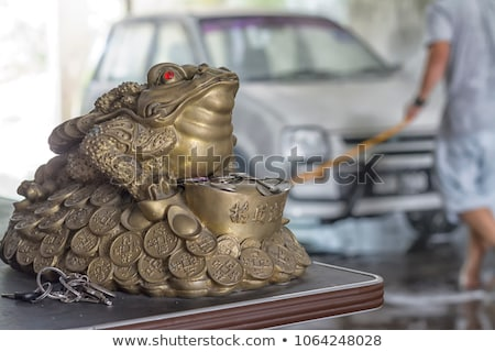 Moneybox frog Stock photo © Givaga