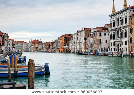 overview of grand canal in venice italy stock photo © andreykr