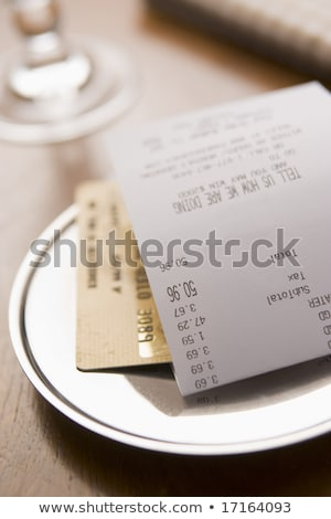 Restaurant Dining Costs Stock photo © Lightsource