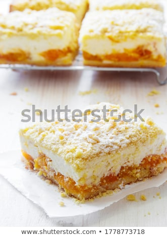 queijo · fatias · isolado · branco · topo · ver - foto stock © digifoodstock