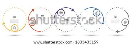 infographics options design template Stock photo © SArts
