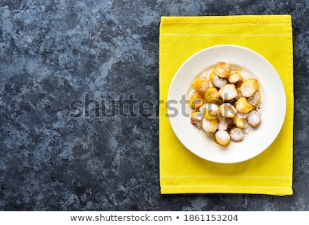 Profondità cottura pan nero tin bianco Foto d'archivio © Digifoodstock