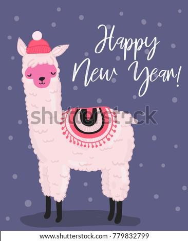 Yeni yıl örgü afiş mutlu moda Stok fotoğraf © carodi