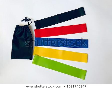 黒 黄色 フィットネス バンド 白 スポーツ ストックフォト © wavebreak_media