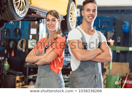 Technician in gray overall Stock photo © IS2