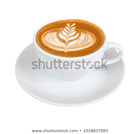 Beautiful latte art Stock photo © grafvision