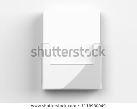 Brochure holder Stock photo © montego