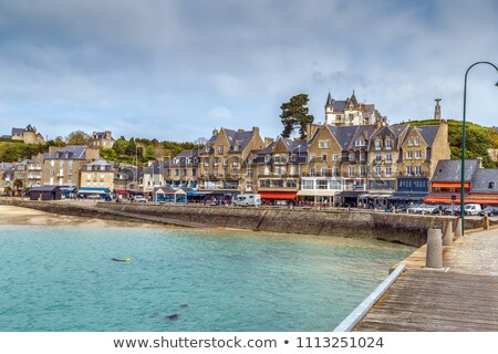 View of waterfront in Cancale, France Stock photo © borisb17