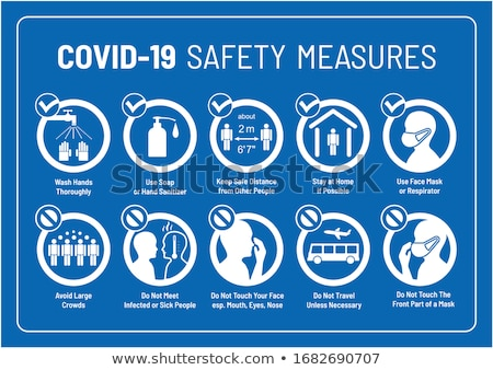 warning symbols safety signs set vector stock photo © ecelop