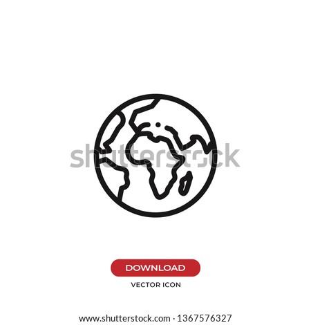 Világ ikonok illusztráció kék Föld üzenet Stock fotó © pkdinkar