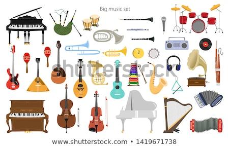 трубы · древесины · 3d · визуализации · музыку · фон · цвета - Сток-фото © mariephoto