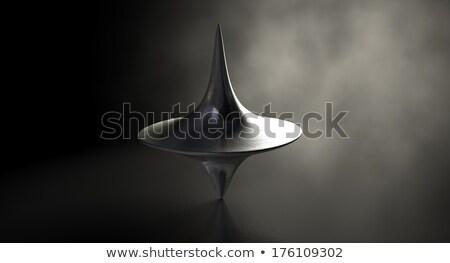 Die Cast Spinning Top Upright Stock photo © albund