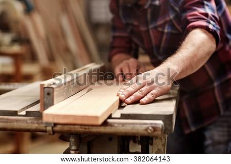 budowniczy · drewna · domu · człowiek · mężczyzn · pracy - zdjęcia stock © photography33