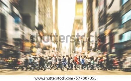 stadsgezicht · taxi · auto · nacht · straat · abstract - stockfoto © konradbak