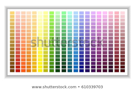 Color Guide Chart Stock photo © cteconsulting