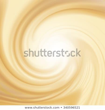 Blanco chocolate leche remolino cremoso resumen Foto stock © ArenaCreative
