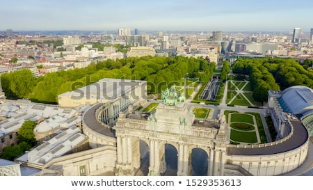 Cinquantennaire Park in Brussels Stock photo © neirfy