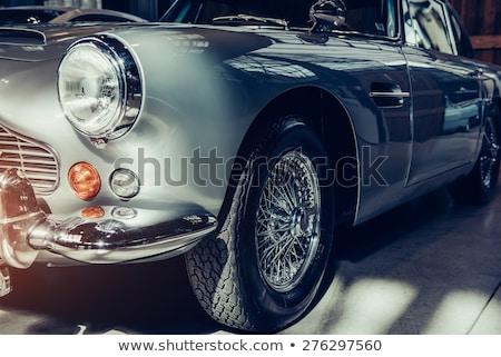 Front part of retro car Stock photo © Nejron