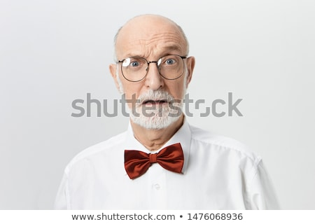 Senior man looking shocked Stock photo © bmonteny