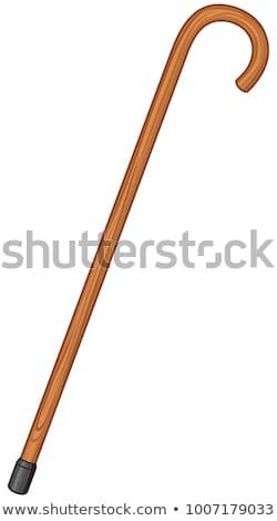 Walking with cane Stock photo © pressmaster