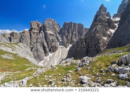 Dolomiti - Piz da Lech Stock photo © Antonio-S