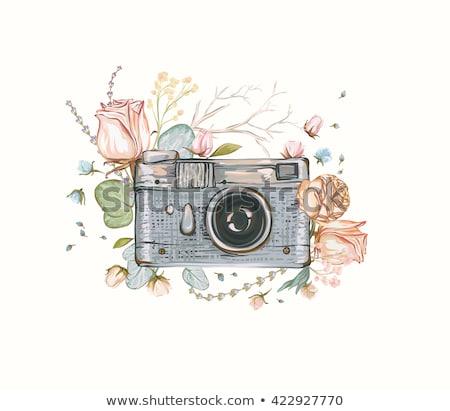 aquarel · arts · gebruikt · communie · papier · textuur - stockfoto © lizard