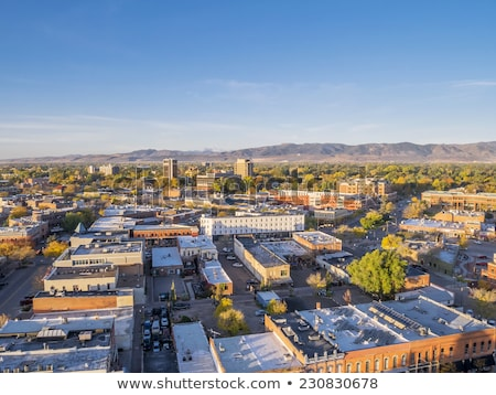 Fort Collins aerial cityscape Stock photo © PixelsAway
