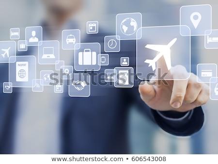 Business Travel Concept Stock photo © vectorikart