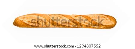 Frans baguette geïsoleerd achtergrond tarwe goud Stockfoto © ozaiachin