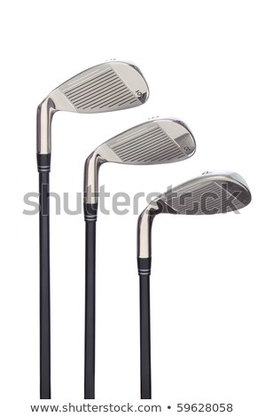 új golf klub fehér izolált Stock fotó © shutswis