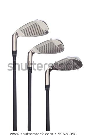 new golf club on white isolated background stock photo © shutswis