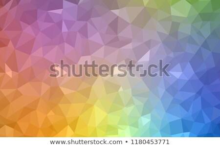 örnek geometrik origami stil eğim dizayn Stok fotoğraf © igor_shmel