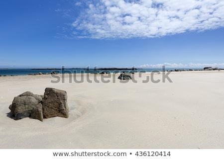 Strand eiland landschap zee Blauw reizen Stockfoto © haraldmuc