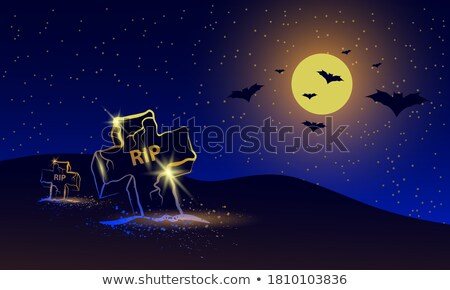 Over the moon Stock photo © bluering