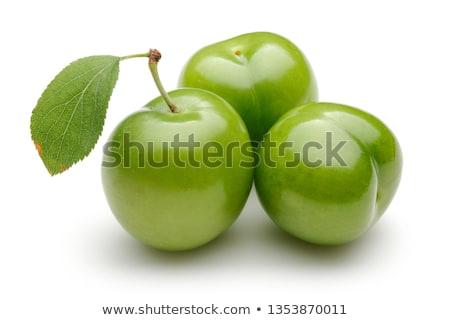 Verde prugna alimentare Foto d'archivio © M-studio
