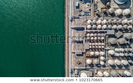 An aerial view of a plant Stock photo © bluering