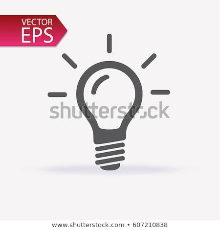 opknoping · verlichting · zakenman · geld · licht · technologie - stockfoto © blackmoon979