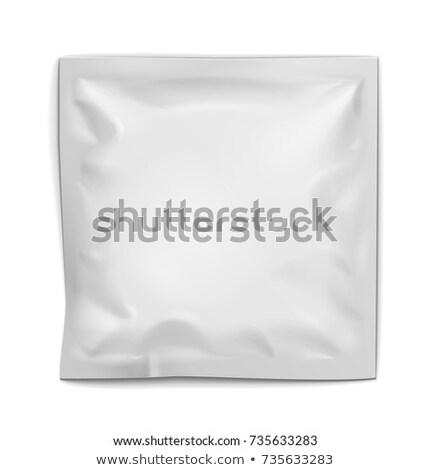 3D paketleme kutu zarf beyaz ofis Stok fotoğraf © SwillSkill